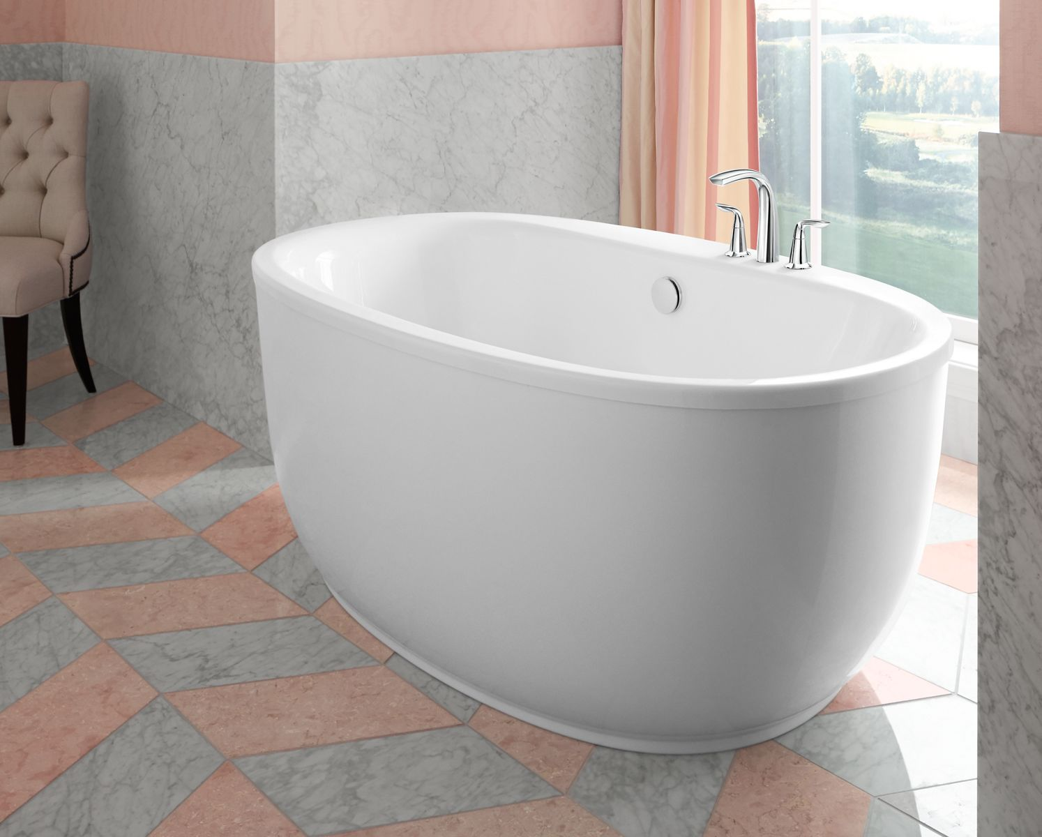 Recommendations on how to wash acrylic bathtubs