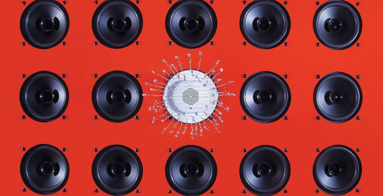 Moxie® Showerhead + Wireless Speaker   Bathroom New Products ...