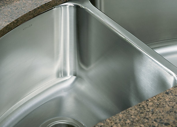 Should you choose a fabricated or a drawn stainless steel sink?