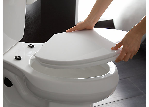 no slam toilet seat hinge. Quick Removal Toilet Seats Guide  Bowl Shape Bathroom KOHLER
