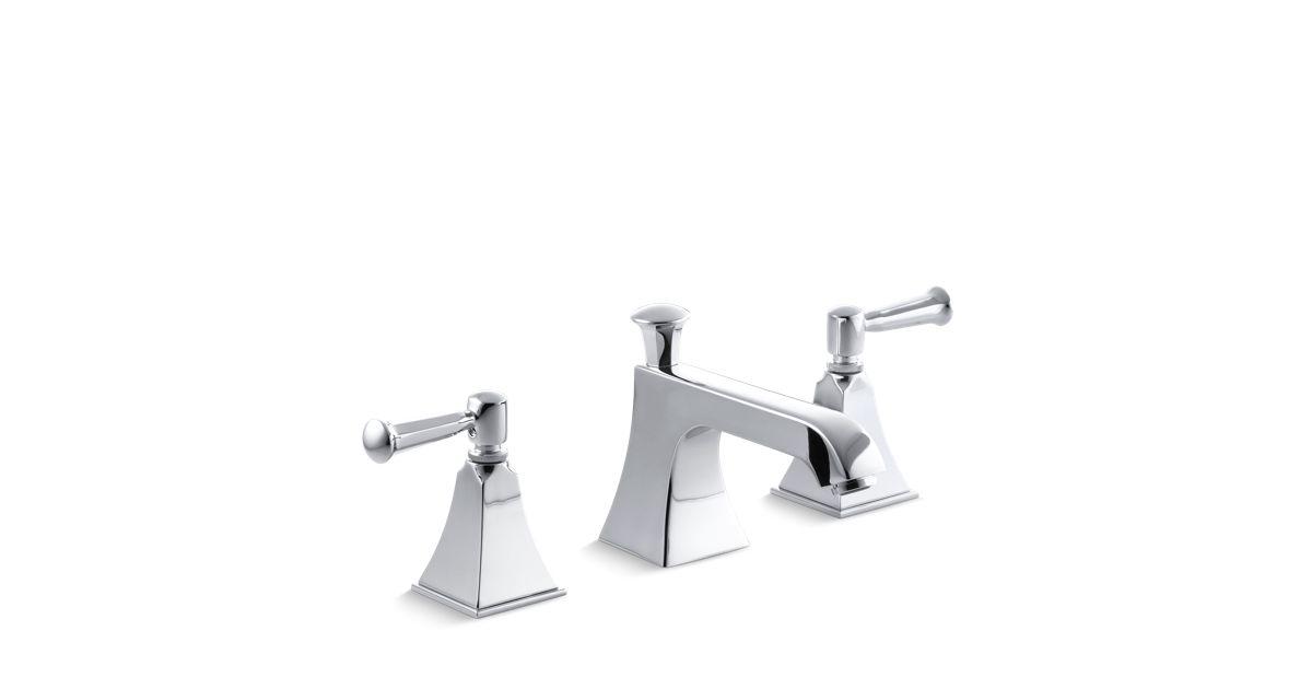 K-454-4S | Memoirs Stately Widespread Sink Faucet | KOHLER