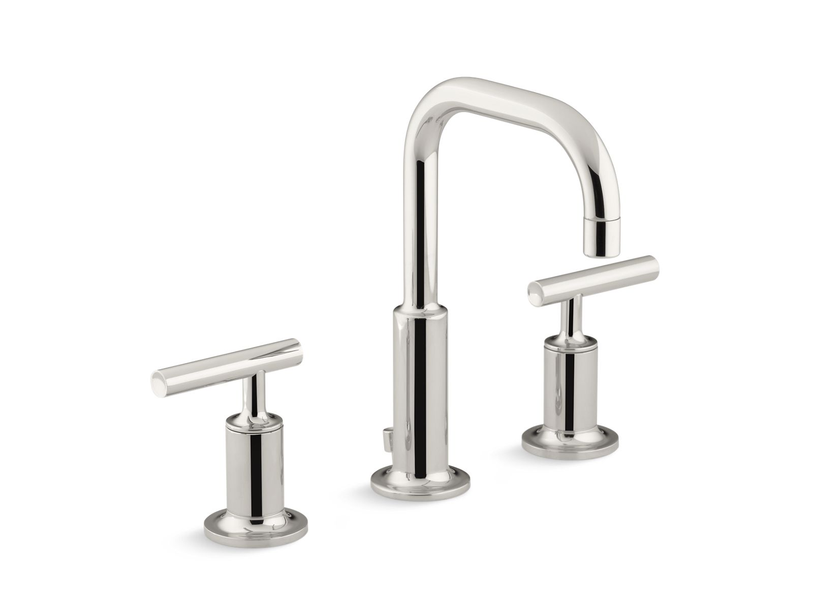K-14406-4 | Purist Widespread Sink Faucet with Low Lever Handles | KOHLER