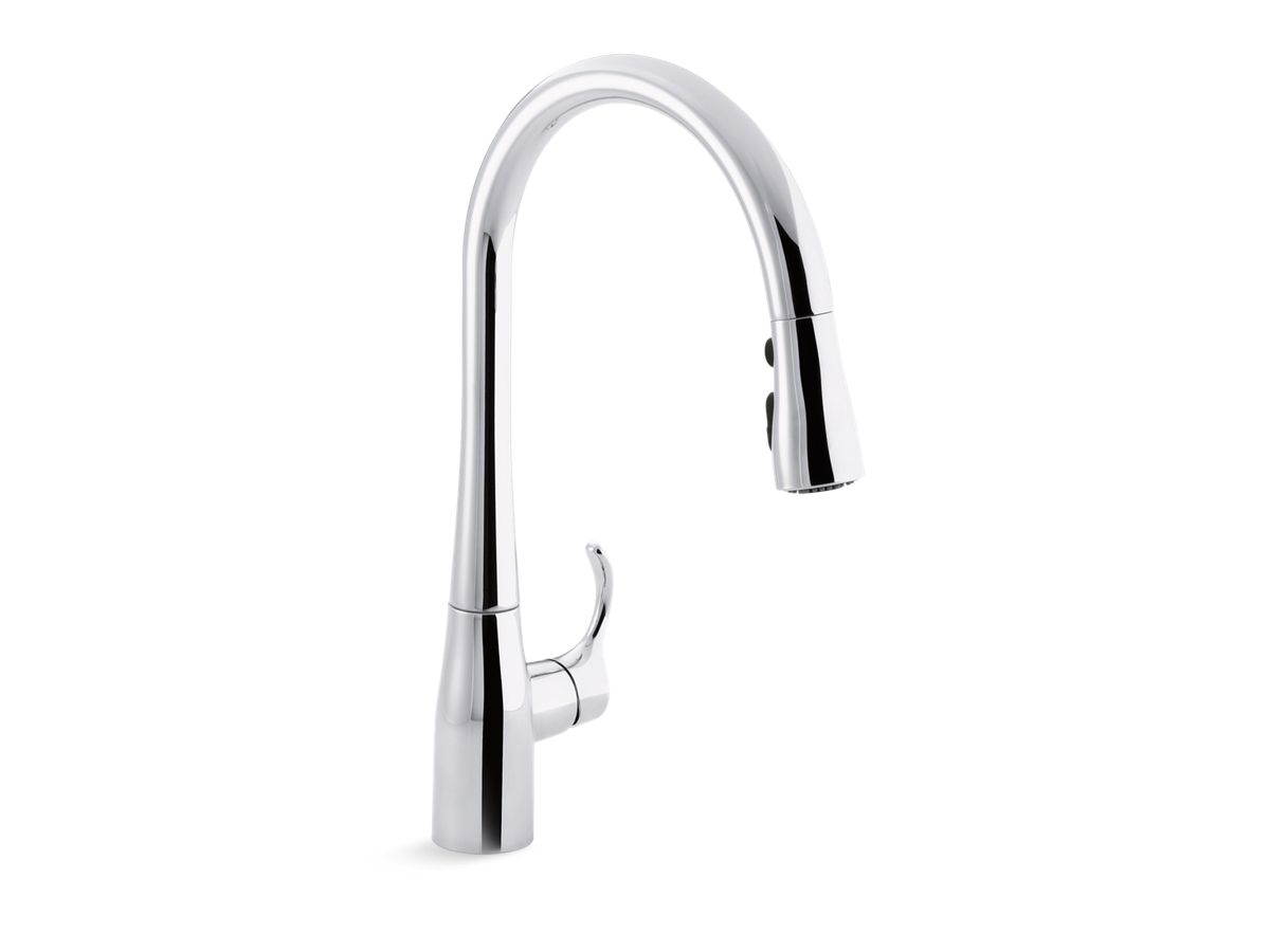 Kohler Kitchen Faucets Simplice k-596 | simplice single-handle kitchen sink faucet | kohler