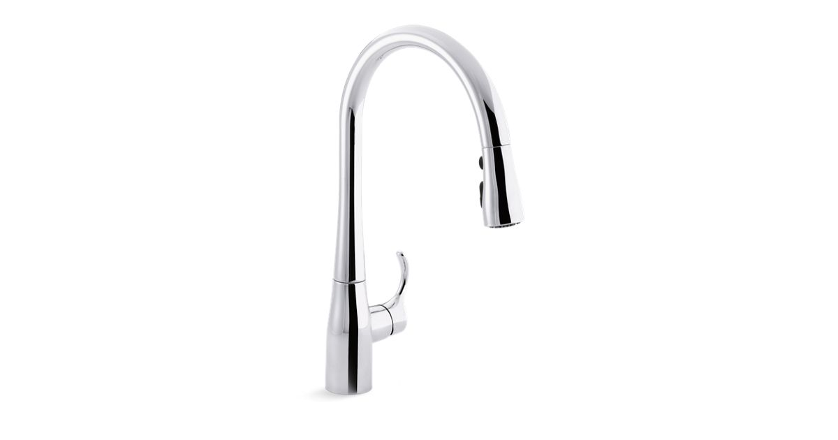 k 596 simplice single handle kitchen sink faucet kohler. Interior Design Ideas. Home Design Ideas