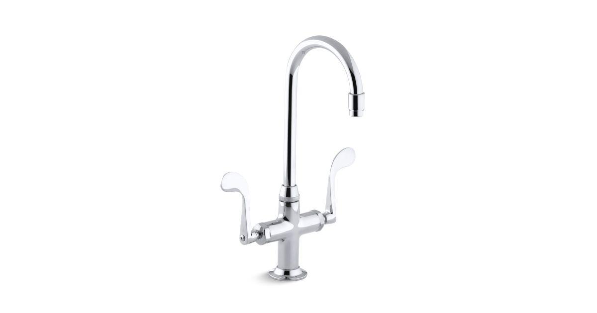 Essex Bar Sink Faucet with Blade Handles | K-8761 | KOHLER