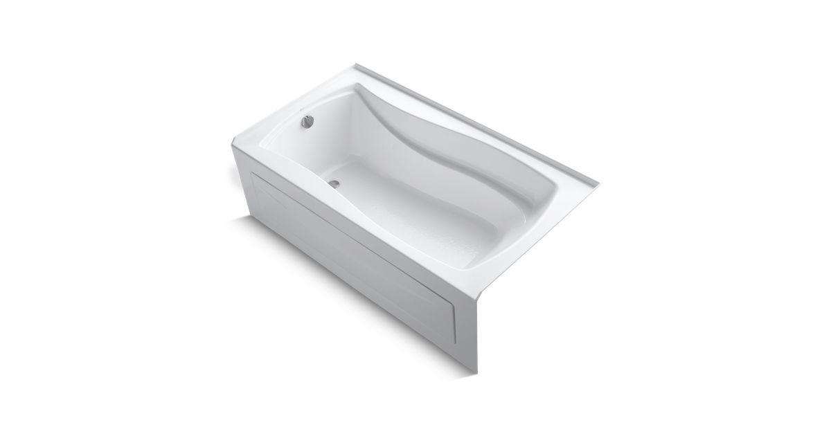 Mariposa 5.5-Foot Bath with Apron and Left-Hand Drain | K-1229-LA ...