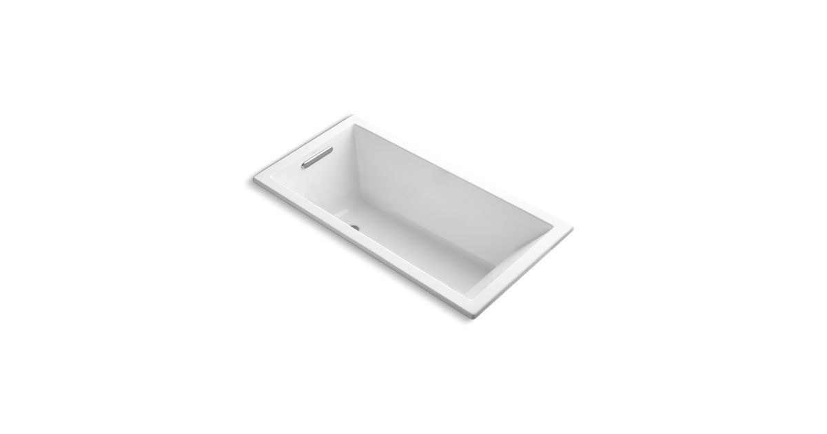 K-1121 | Underscore 5-Foot Drop-In/Under-Mount Bath | KOHLER
