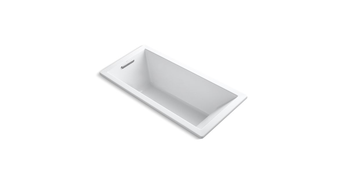K-1821 | Underscore 5.5-Foot Drop-In/Under-Mount Bath | KOHLER