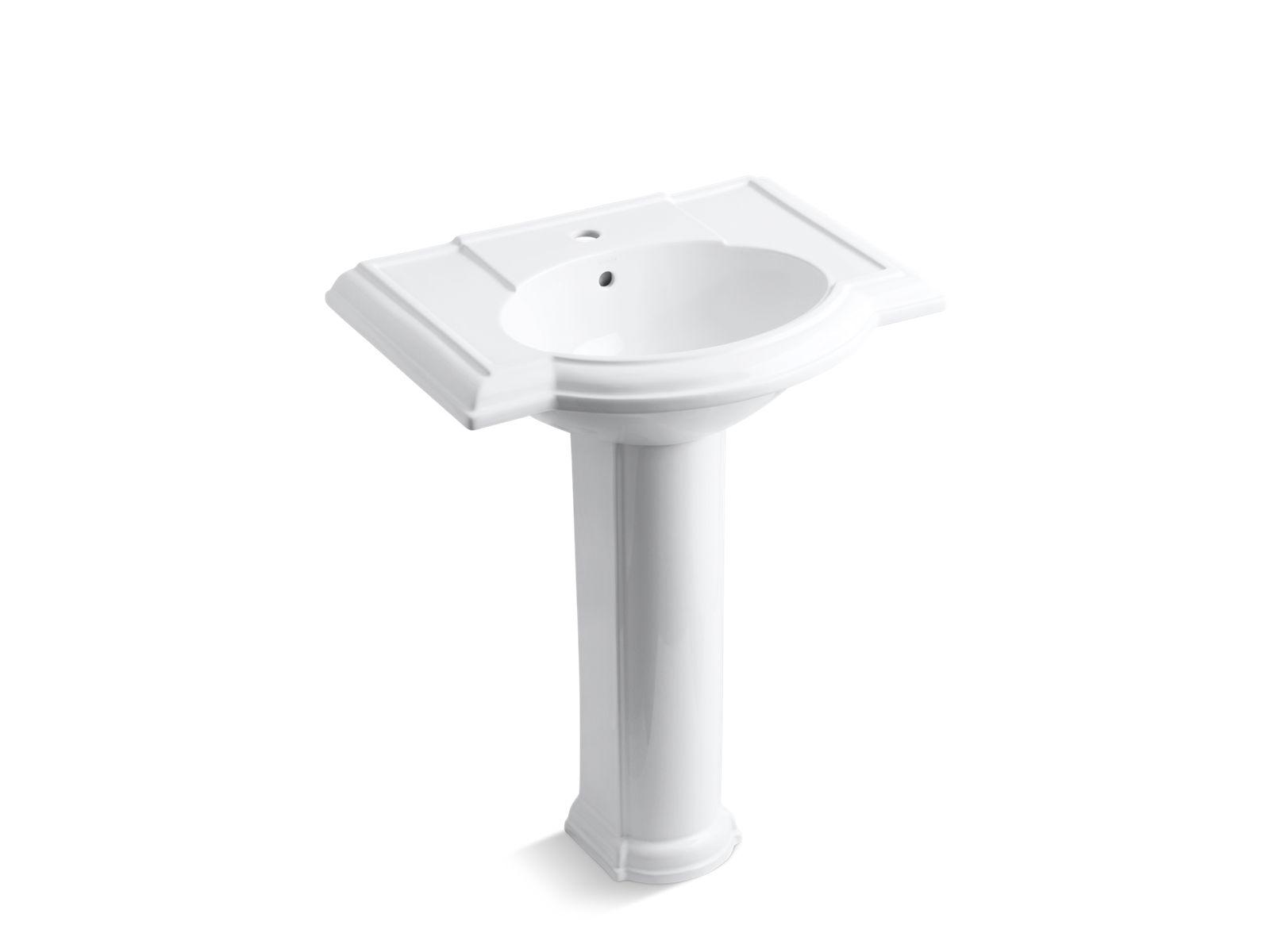 Attrayant Devonshire Pedestal Sink With Single Faucet Hole | K 2294 1 | KOHLER