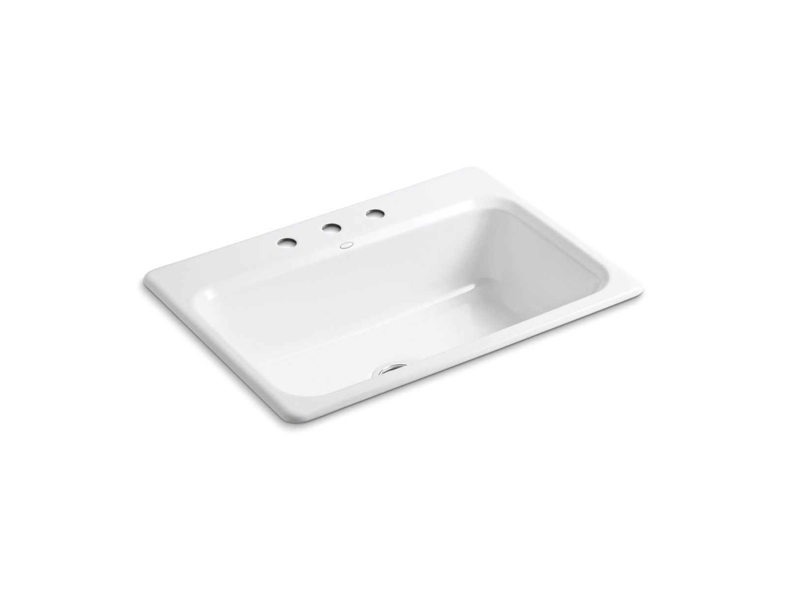 Charmant Bakersfield Top Mount Kitchen Sink W/ Three Faucet Holes | K 5832 3 | KOHLER