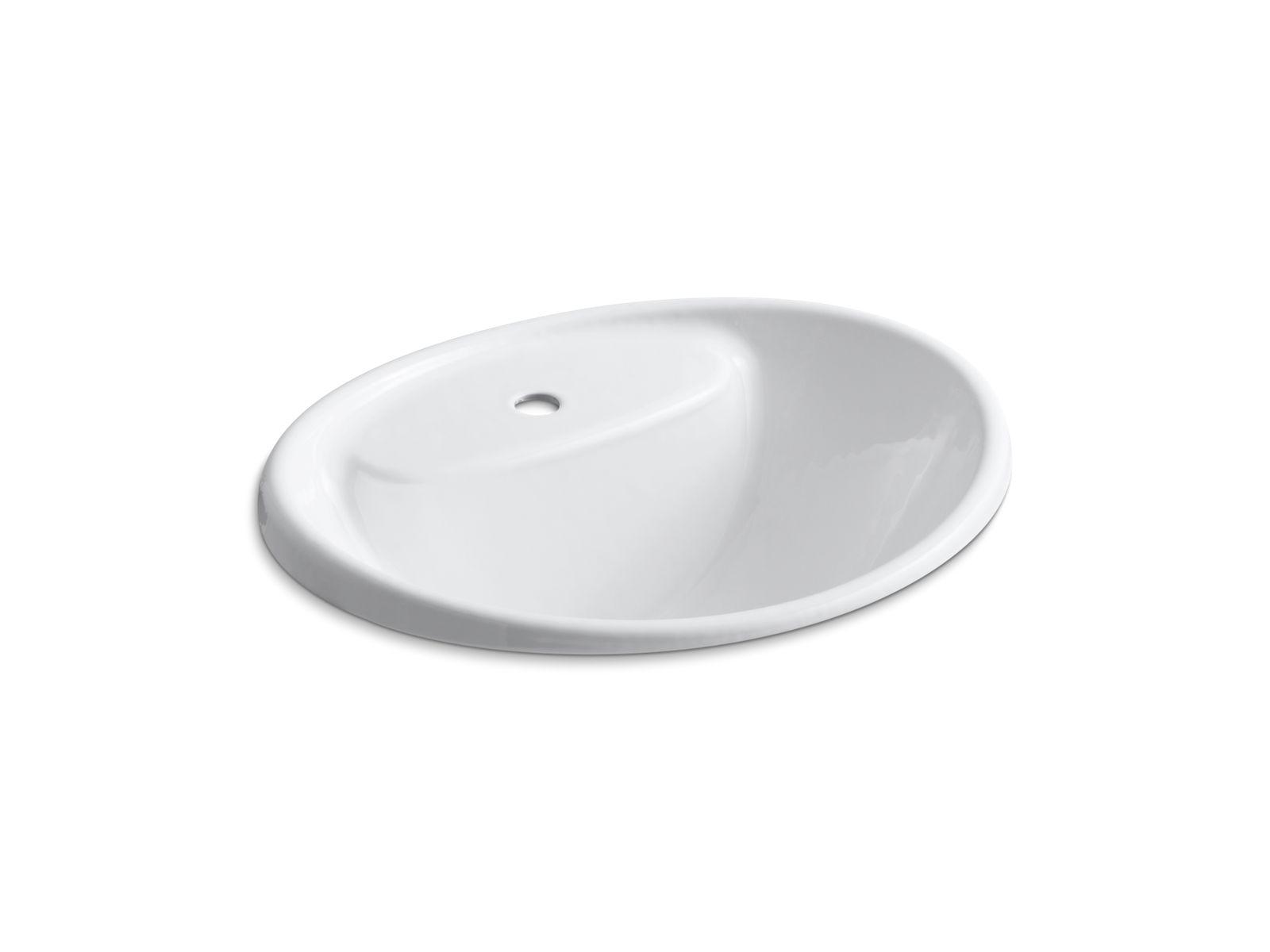 Tides Drop In Sink With Single Faucet Hole | K 2839 1 | KOHLER