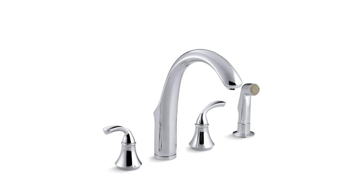 K-10445 | Forté High Spout Kitchen Sink Faucet | KOHLER