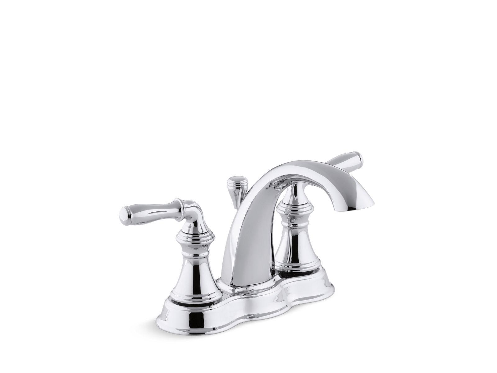 Devonshire Centerset Bathroom Sink Faucet | K 393 N4 | KOHLER