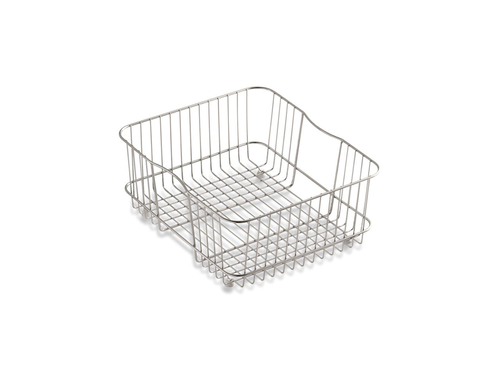 Superb Coated Sink Basket For Undertone Kitchen Sinks | K 3277 | KOHLER