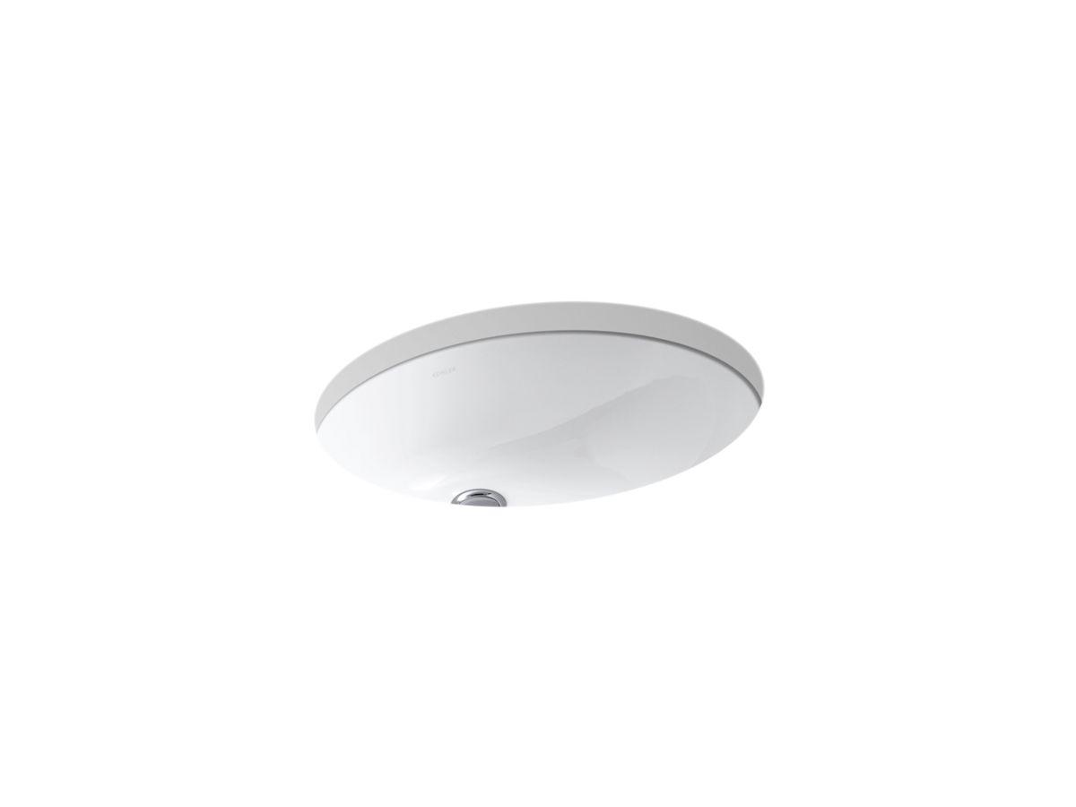Kohler Undermount Bathroom Sink k-2210   caxton undermount sink, 1714 inches   kohler