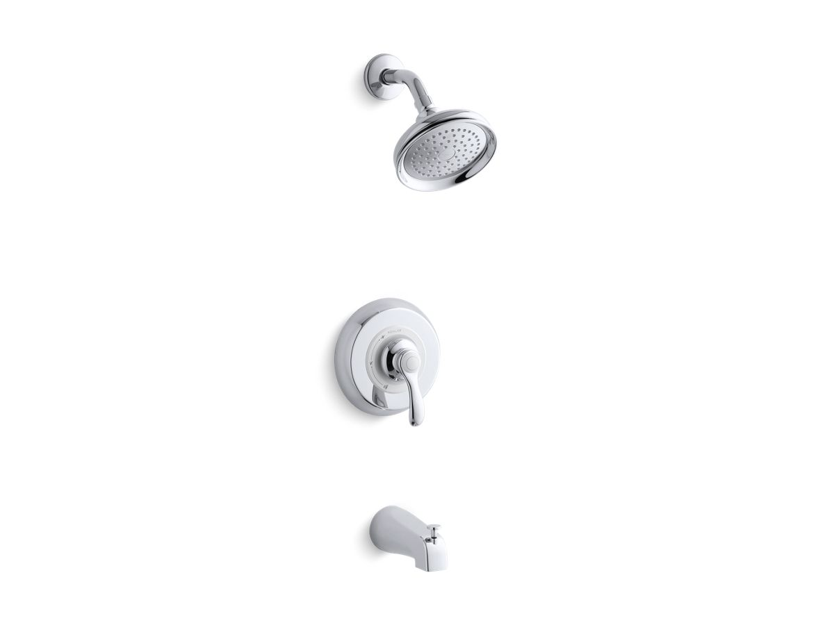 Fairfax® Rite-Temp(r) bath and shower trim set with slip-fit spout, valve not included   Tuggl