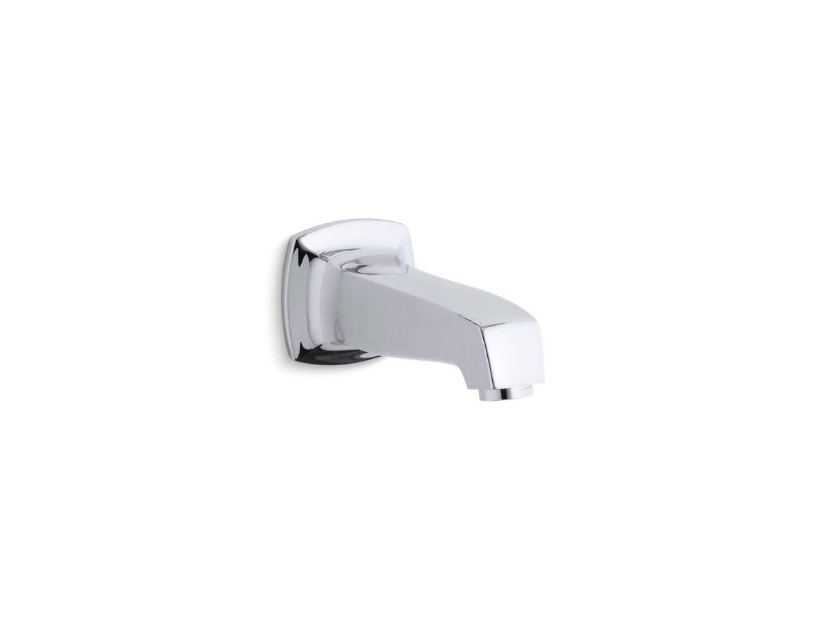 Margaux® wall-mount non-diverter bath spout | Tuggl