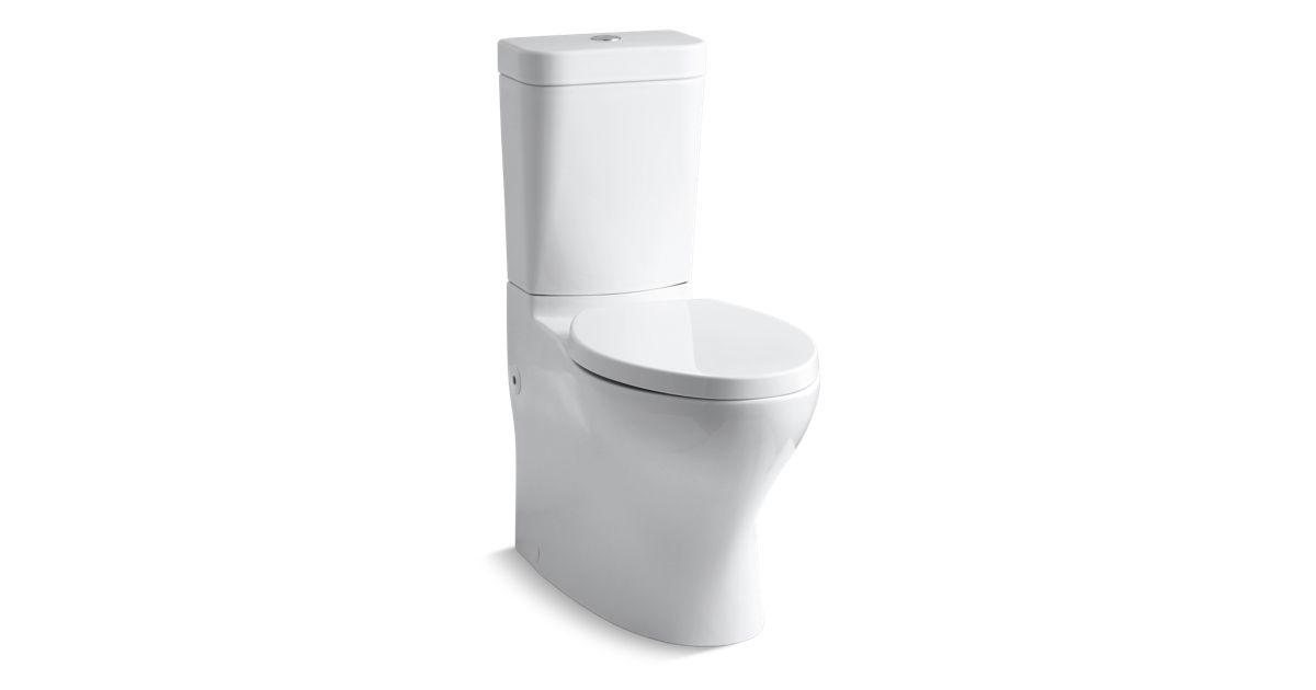 push button toilet parts. KOHLER K 3753 Persuade Circ Comfort Height Two Piece Dual Flush Toilet