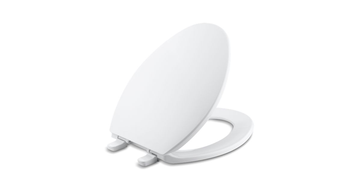 K 4774 Brevia Elongated Toilet Seat With Quick Release