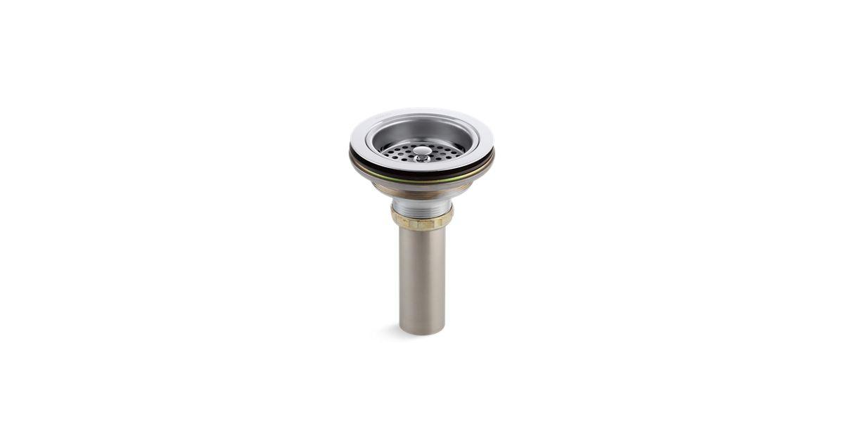 K 8801 Duostrainer Sink Strainer With Tailpiece Kohler