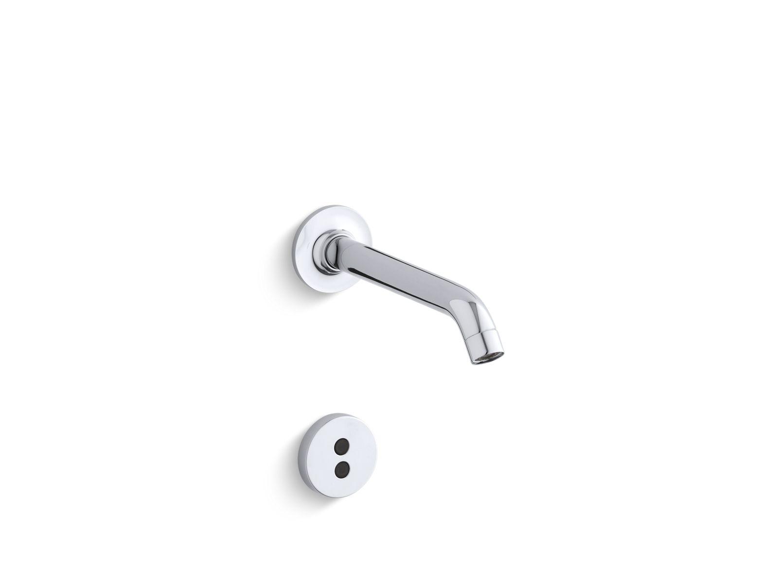 K T11840 Purist Wall Mount Touchless Faucet Trim With 35 Degree Spout Kohler