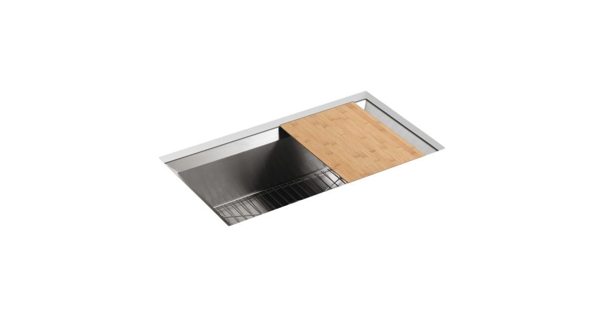 K-3158 | Poise Under-Mount Single-Bowl Kitchen Sink | KOHLER