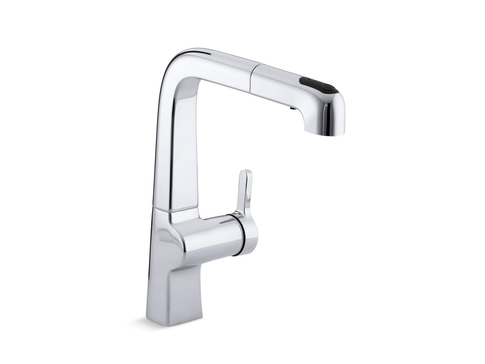 K 6331   Evoke Single Handle Kitchen Faucet   KOHLER