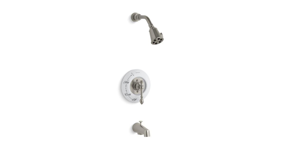 K-T6808-4D   IV Georges Brass Rite-Temp Bath and Shower Faucet Trim ...