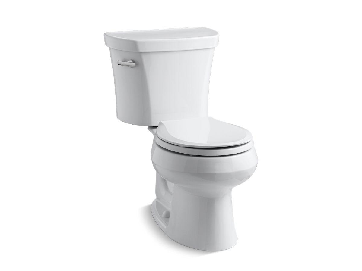 Kohlerk 3947wellworth Two Piece Round Front 128 Gpf Toilet Kohler