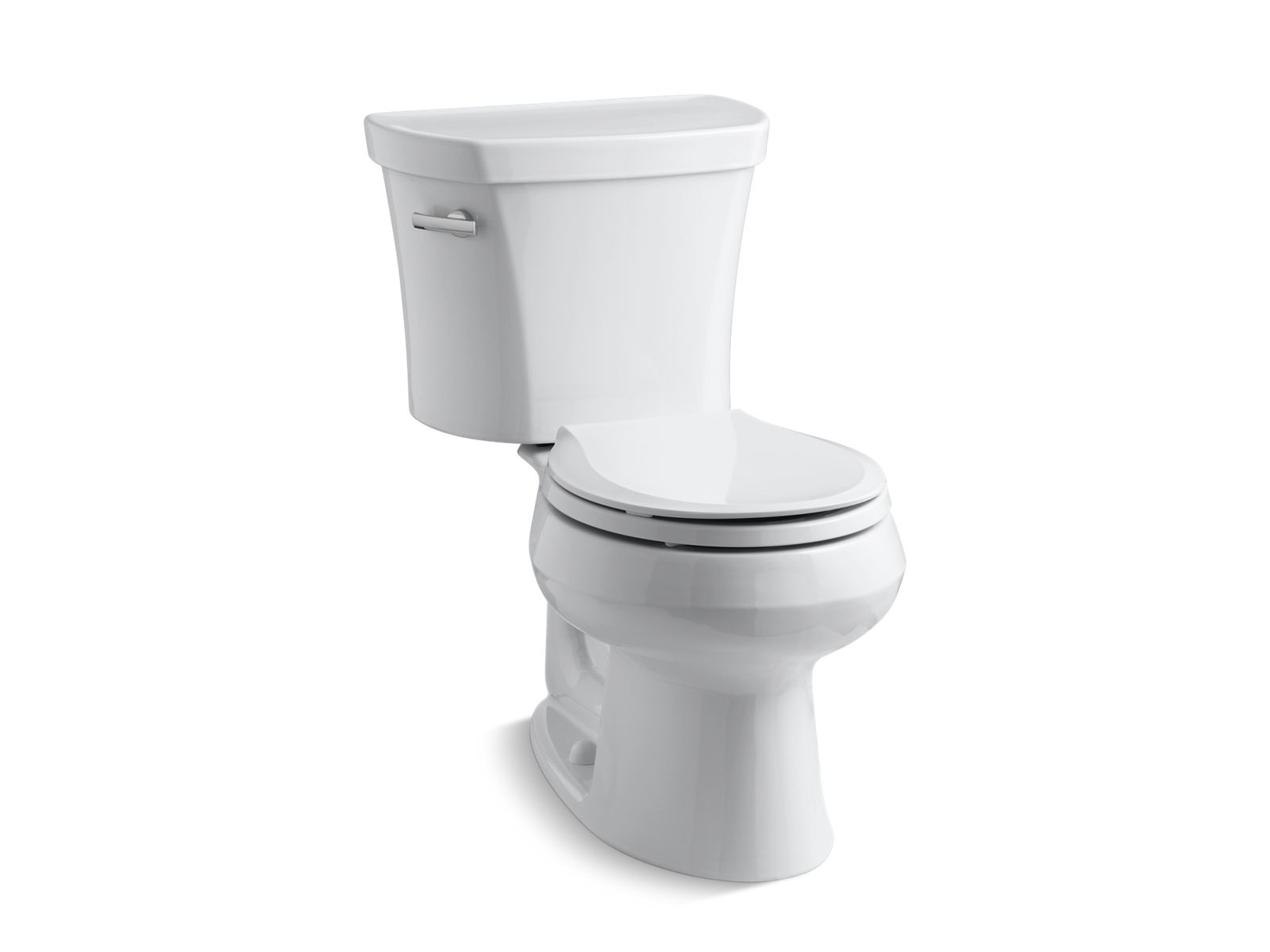 roundfront 128gpf toilet with tank locks kohler