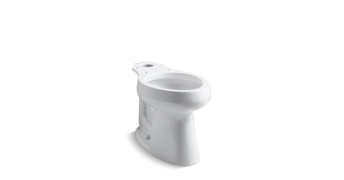 Swell Kohler K 4199 Highline Comfort Height Elongated Toilet Bowl Kohler Machost Co Dining Chair Design Ideas Machostcouk