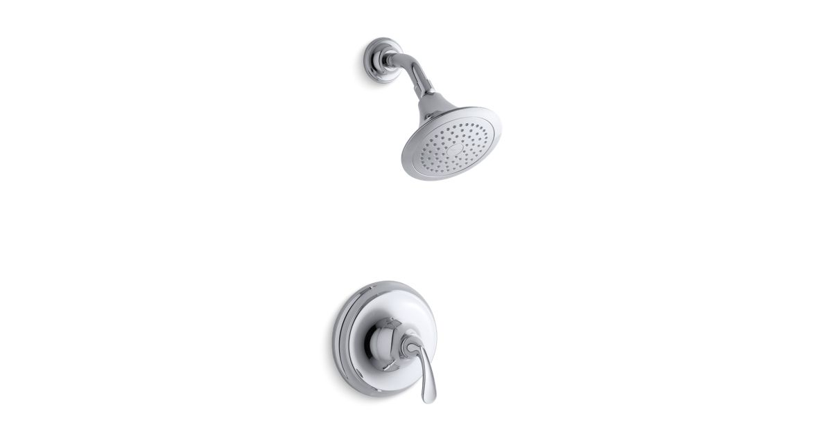 K-TS10276-4 | Forté® Sculpted Rite-Temp® shower valve trim with 2.5 ...