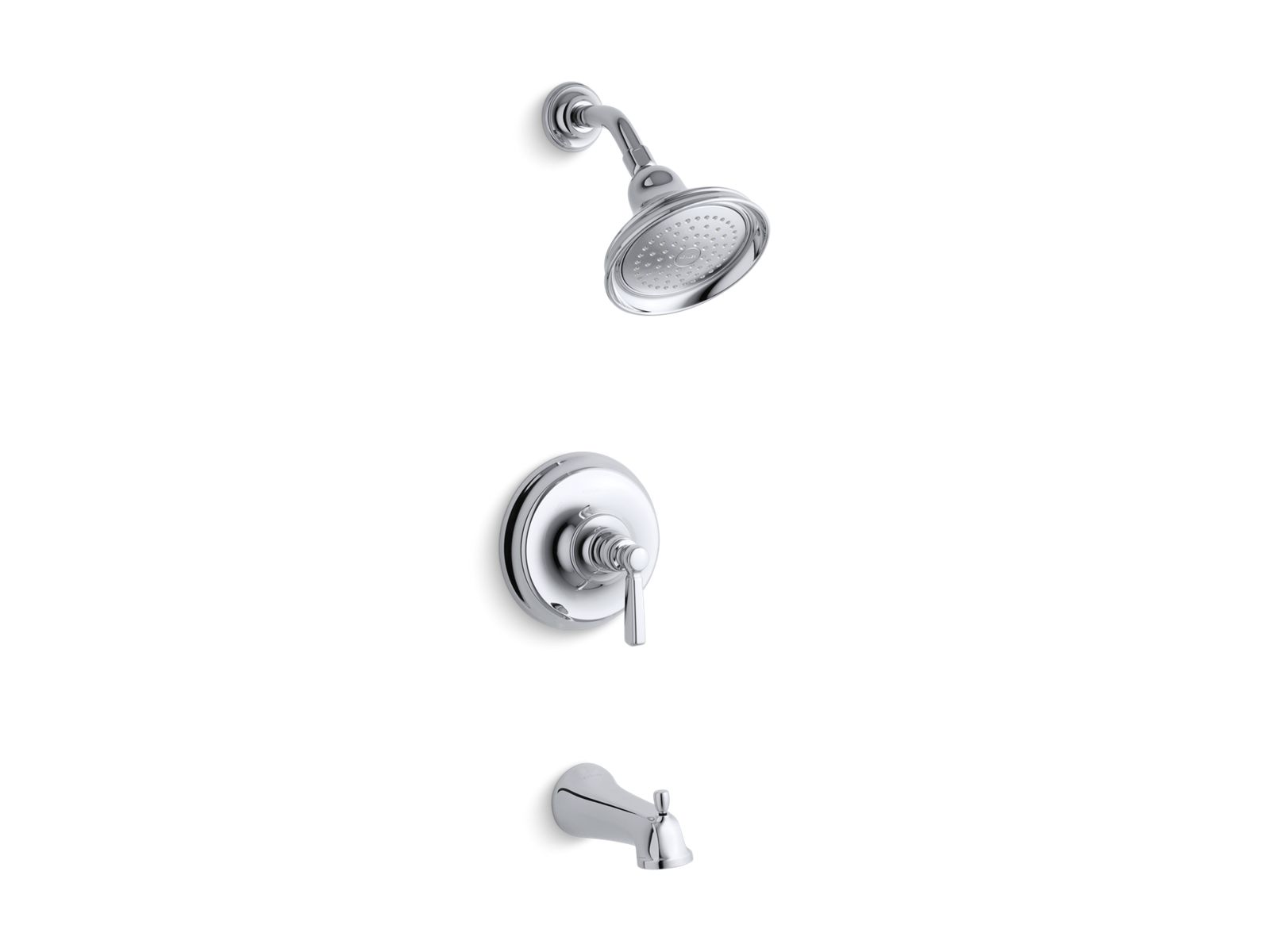 K T10581 4 | Bancroft Rite Temp Bath And Shower Faucet Trim | KOHLER