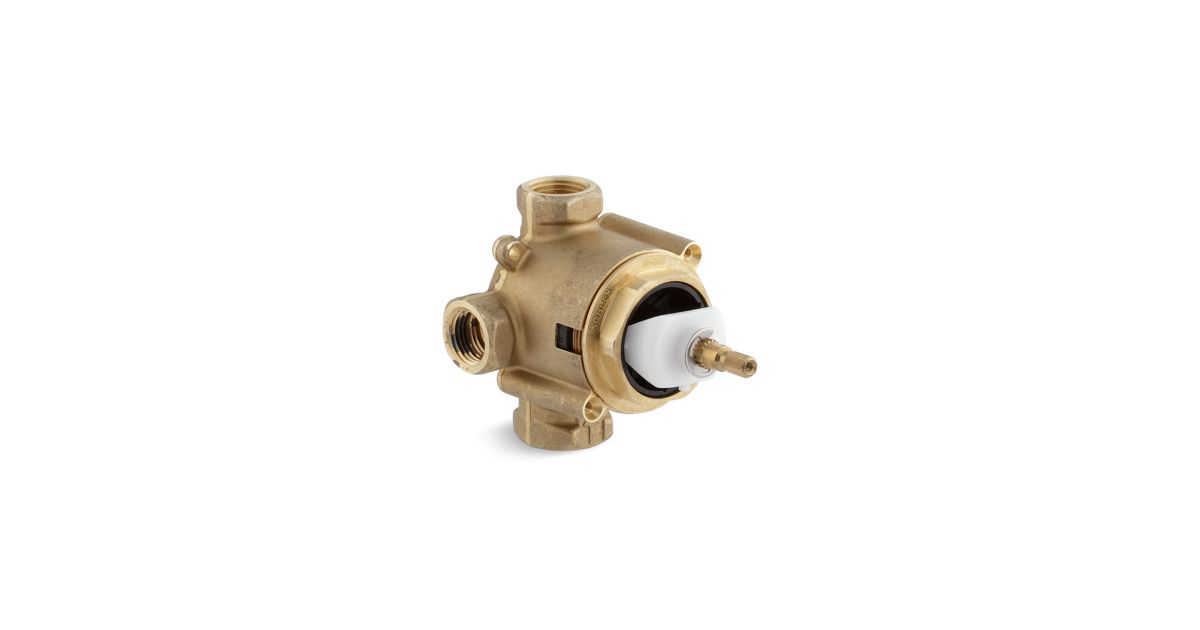 K-728-K | MasterShower Two- or Three-Way Transfer Valve | KOHLER