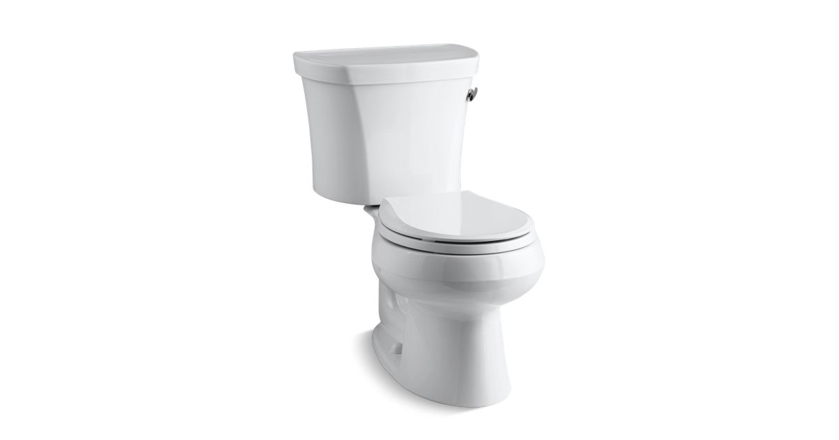 Strange Kohler K 3947 Ra Wellworth Round Front 1 28 Gpf Toilet W Right Hand Lever Kohler Uwap Interior Chair Design Uwaporg