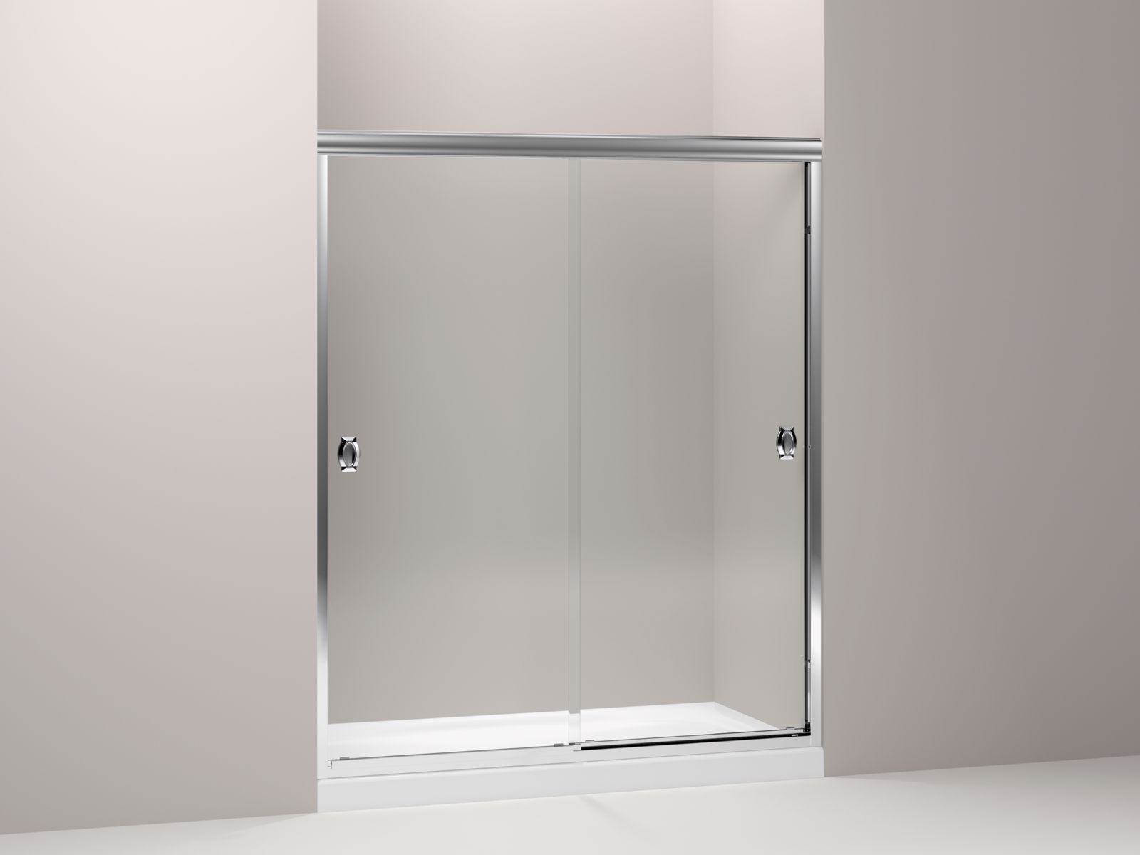 KOHLER Devonshire Frameless Sliding Shower Door KOHLER