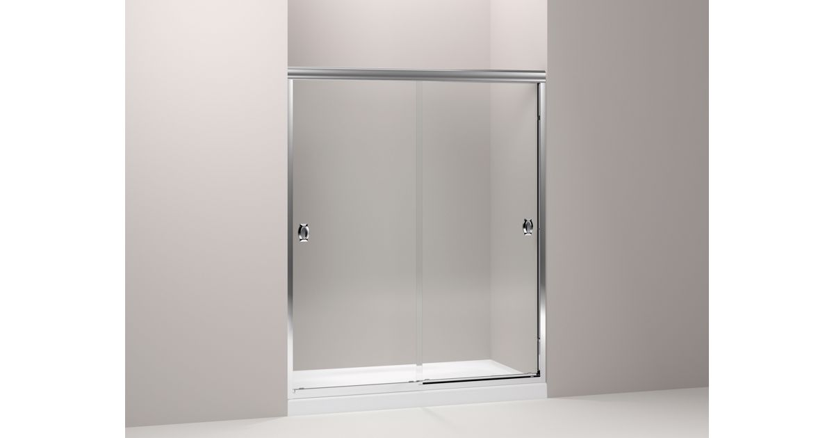 Kohler Devonshire Frameless Sliding Shower Door Kohler