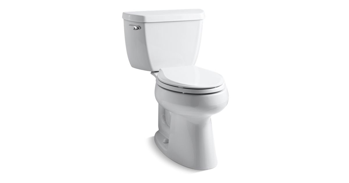 KOHLER|K-3658|Highline Classic Comfort Height Elongated 1.28 GPF ...
