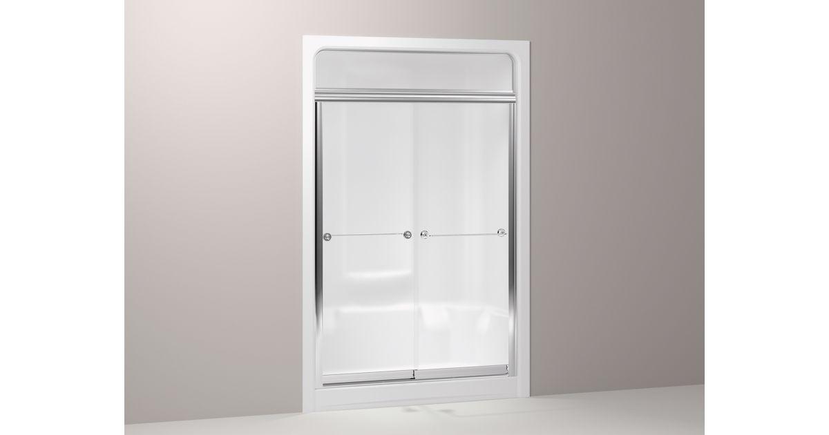 Kohler Senza Steam Sliding Shower Door For Sonata Showers