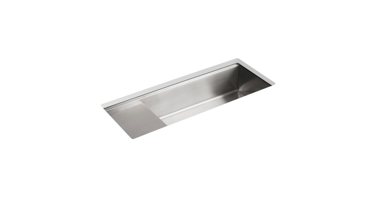K-3761 | Stages 45-Inch Under-Mount Kitchen Sink | KOHLER