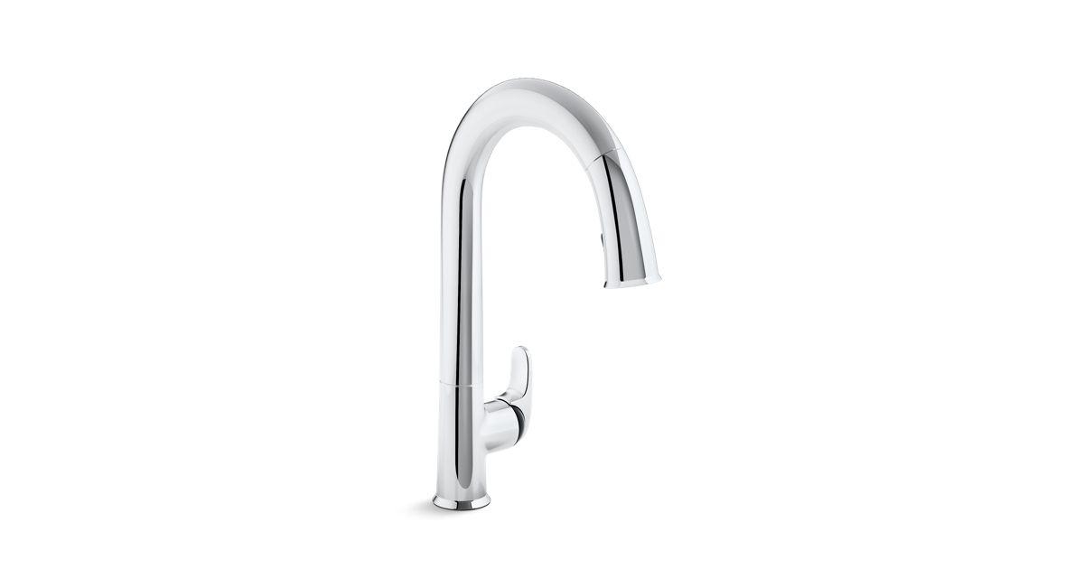 K-72218-B7 | Sensate Touchless Pull-Down Kitchen Sink Faucet | KOHLER