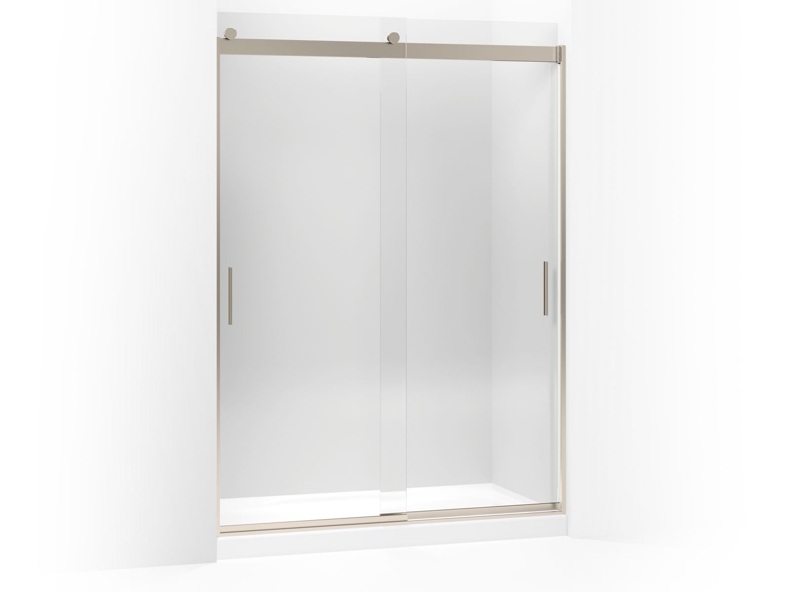 K-706013-L | Levity Frameless Sliding Shower Door | KOHLER