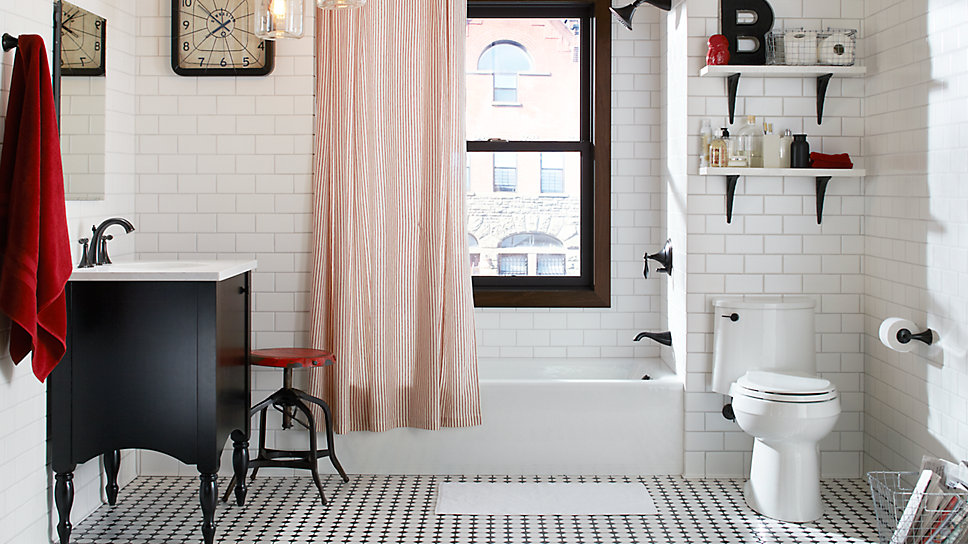 9 Tips for Small Bathrooms