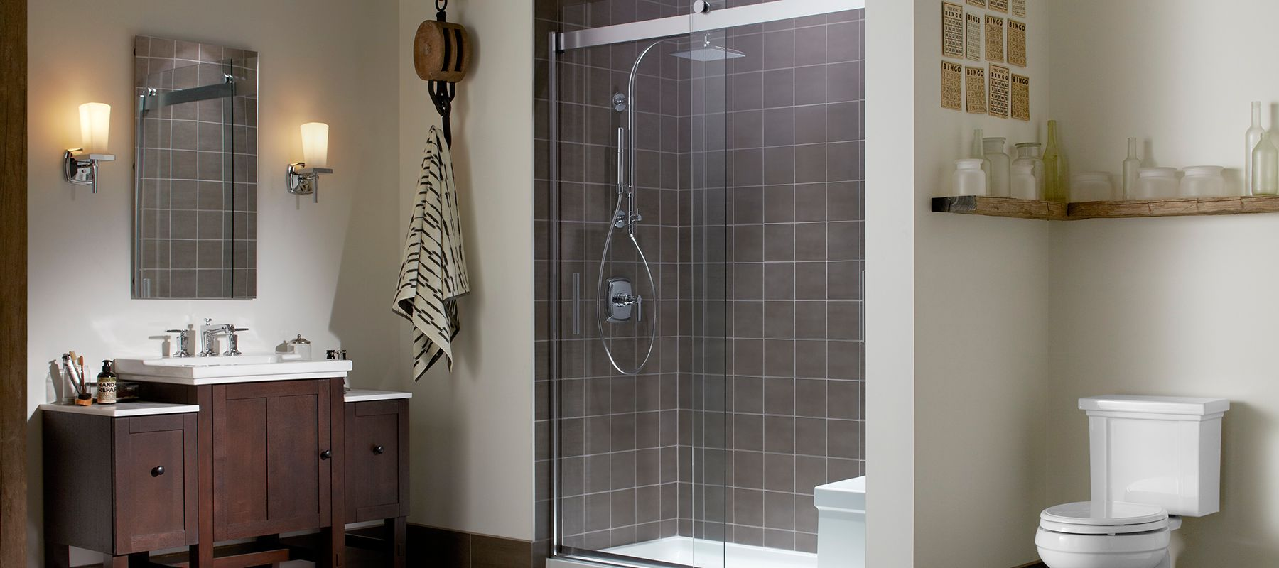three steps to a fabulous custom shower - Bathtub Shower Doors