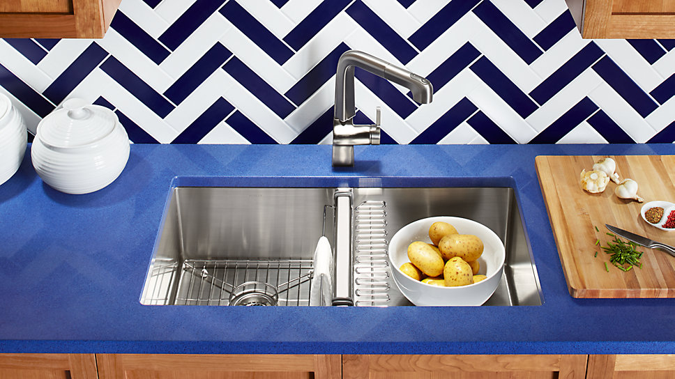 Why KOHLER Stainless Steel Sinks?