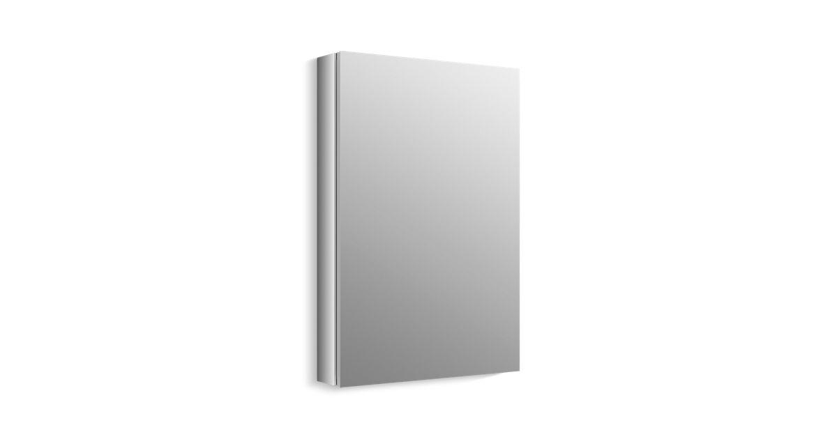 K 99002 Verdera Medicine Cabinet With Mirrored Door Kohler
