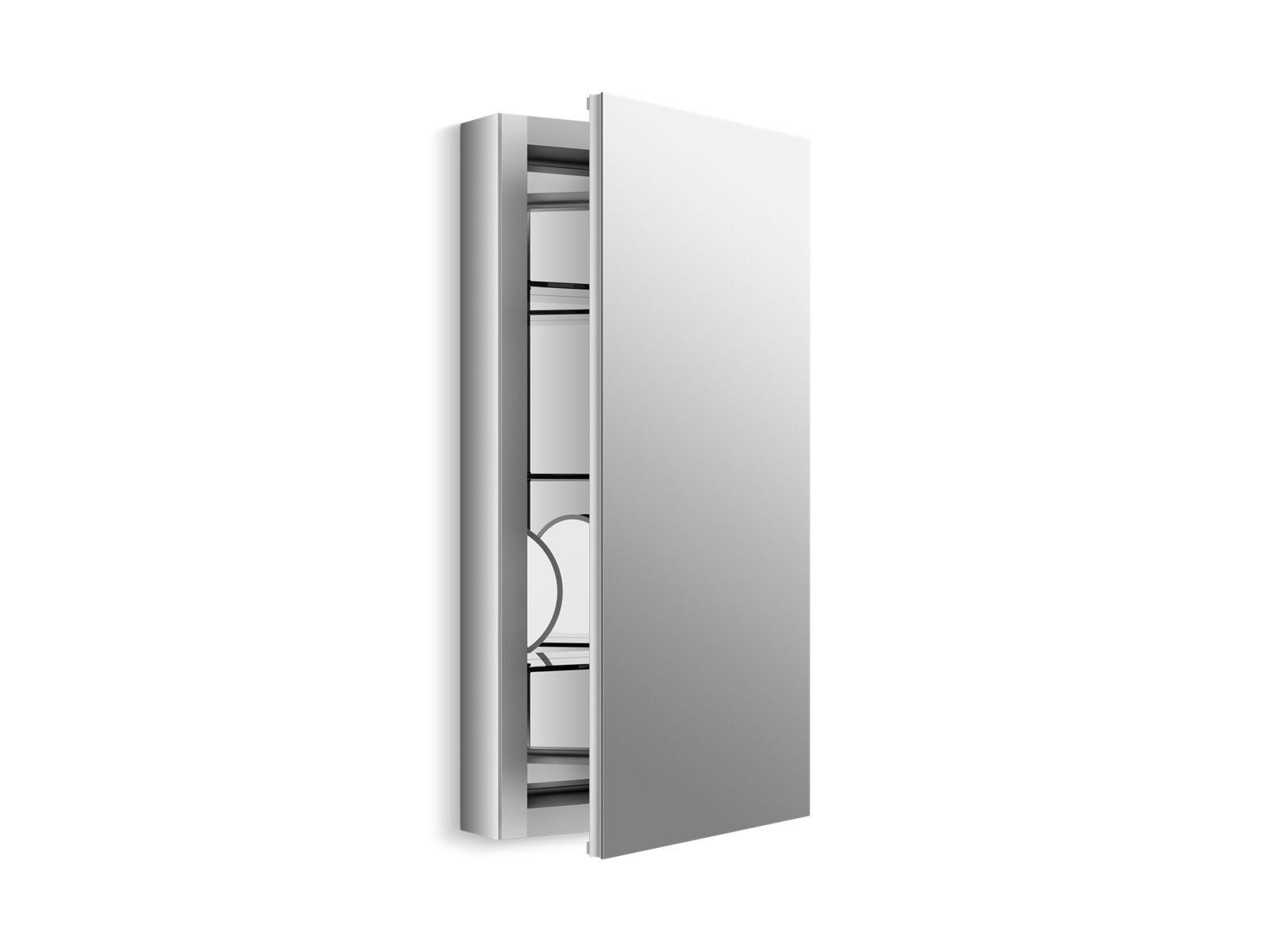 K 99001 Verdera Medicine Cabinet With Magnifying Mirror Kohler