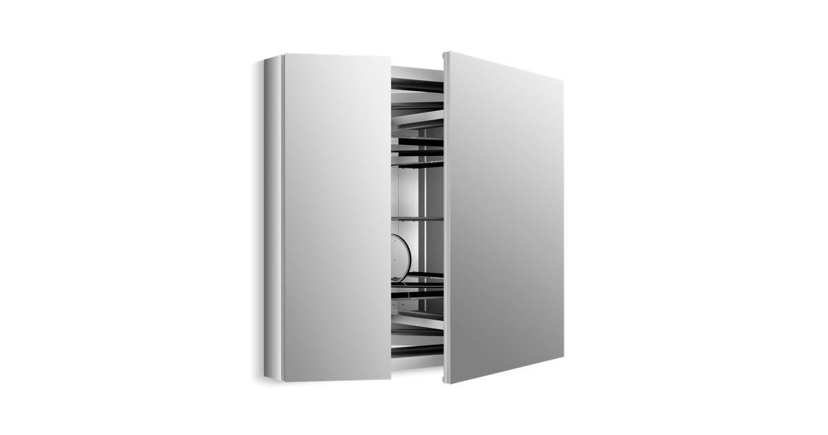 K-99009 | Verdera Medicine Cabinet with Double Mirrored Doors | KOHLER