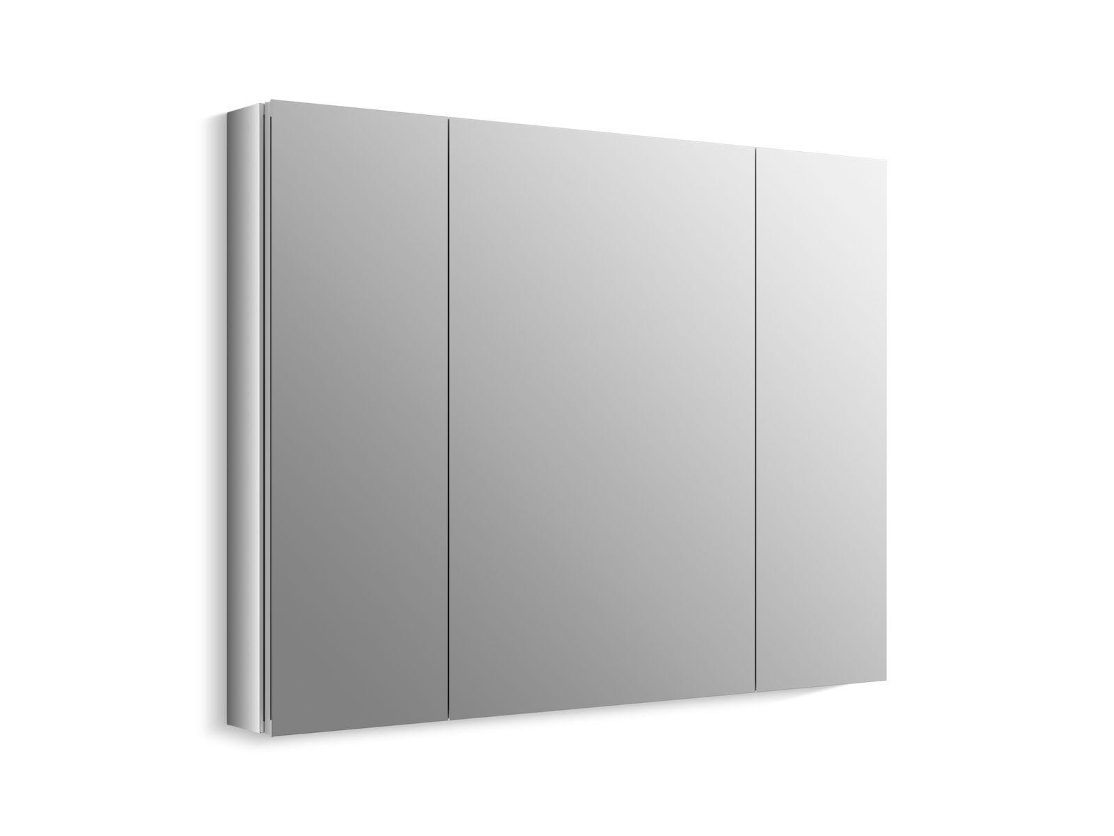 k 99010 verdera medicine cabinet with triple mirrored doors rh us kohler com