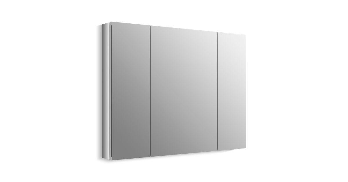 Brilliant K 99010 Verdera Medicine Cabinet With Triple Mirrored Doors Kohler Download Free Architecture Designs Sospemadebymaigaardcom
